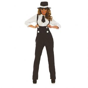 1920's Glam Gangster Plus size Costume (24635)